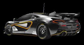 Black McLaren 570S GT4 Car