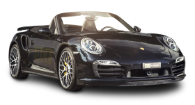 Black Porsche 911 Turbo Car