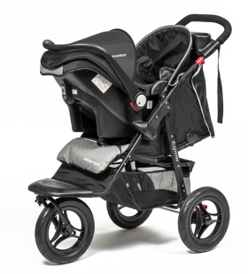 Black Pram Baby