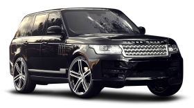 Black Range Rover Piano Car
