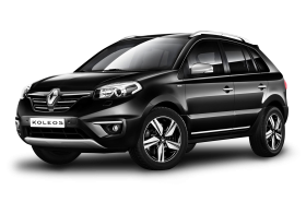 Black Renault Koleos Car