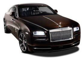 Black Rolls Royce Wraith Car