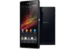 Black Sony Xperia