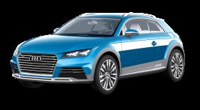 Blue Audi AllRoad Car