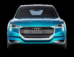 Blue Audi E Tron Quattro Car
