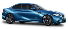 Blue BMW M2 Car