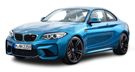 Blue BMW M2 Coupe Car