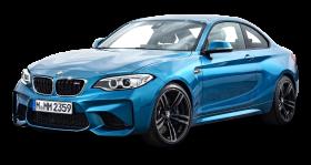 Blue BMW M2 Coupe Car