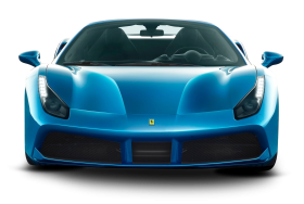 Blue Ferrari 488 Spider Car