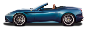 Blue Ferrari California T Car