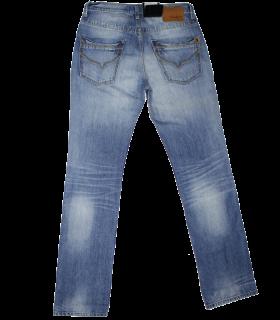 Blue  Half Wash Jeans