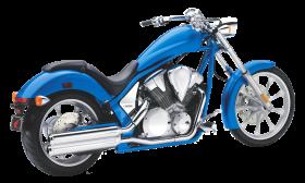 Blue Honda Fury