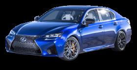Blue Lexus GS F Car