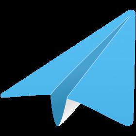 Blue Paper Plane
