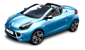 Blue Renault Wind Car