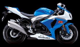 Blue Suzuki GSX R1000