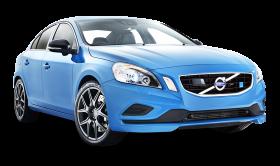 Blue Volvo S60 Polestar Car