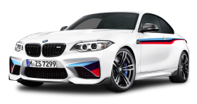 BMW M2 Coupe White Car