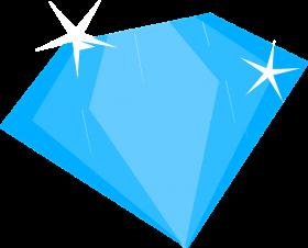 Brilliant Blue Diamond