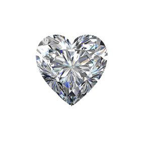 Brilliant Diamond Love Shaped