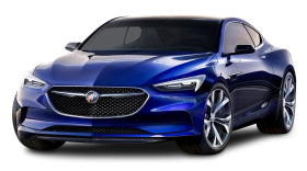 Buick Avista Blue Car