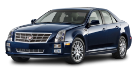 Cadillac STS Blue Car