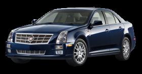 Cadillac STS Blue Car