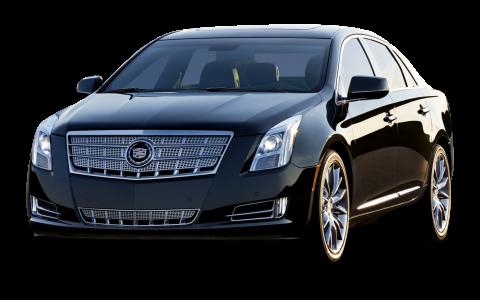 Cadillac XTS Black Car