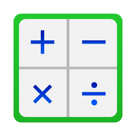 Calculator Icon Galaxy S6