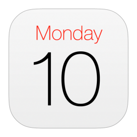 Calendar Official Icon iOS 7