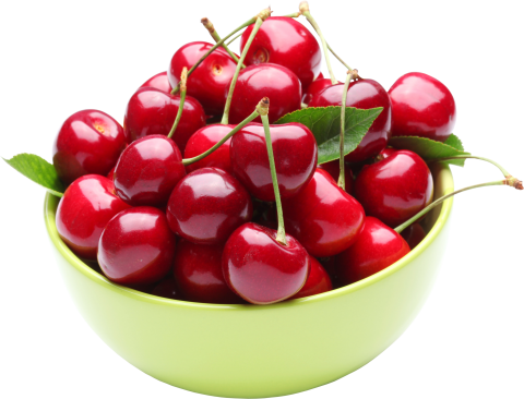 Cherry in  a cup
