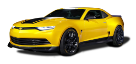 Chevrolet Camaro Concept Yellow Car
