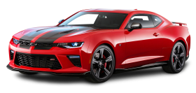 Chevrolet Camaro SS Red Car