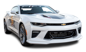 Chevrolet Camaro White Car