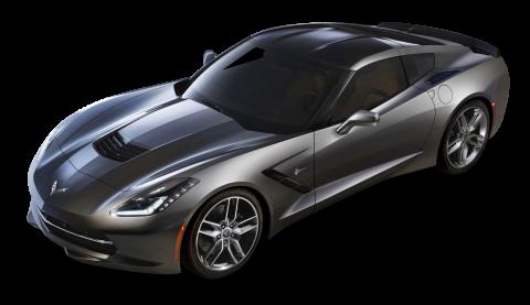 Chevrolet Corvette C7 Stingray Top View Car