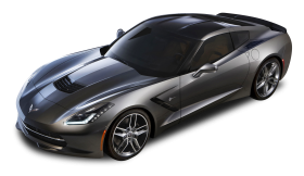 Chevrolet Corvette C7 Stingray Top View Car