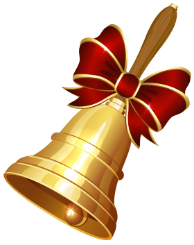 Christmas Golden Bell