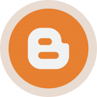 Circled Blogger Logo