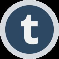 Circled Tumblr Logo