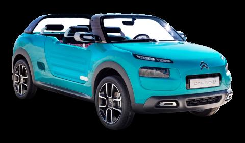 Citroen Cactus M Blue Car