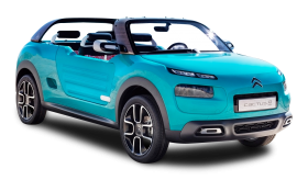 Citroen Cactus M Blue Car