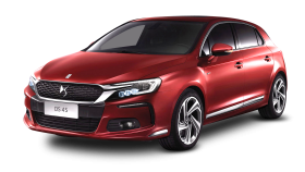 Citroen DS 4S Red Car