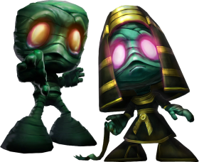 Classic Amumu and Pharao Amumu Skin