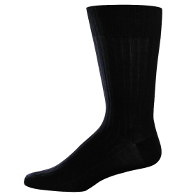 Classic Business Black Socks