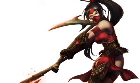 Crimson Akali Splashart Updated