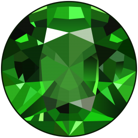 Diamond Emerald Gem