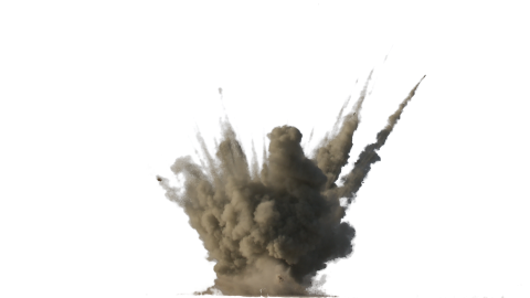 Dirt Explosion PNG