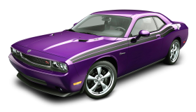 Dodge Challenger Violet Car
