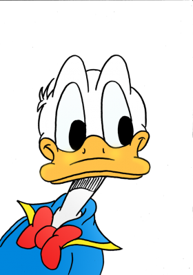 Donald Duck  Curious