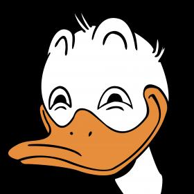 Donald Duck Rape Face